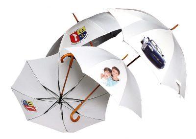 Digitální potisk deštníku
