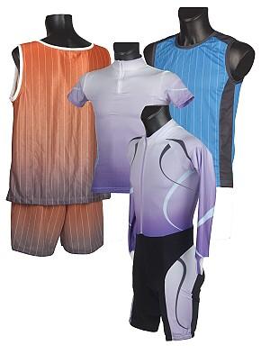 Potisk textilu - dresy