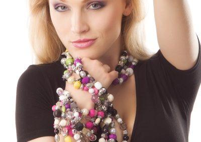 Reklamní fotografie - náhrdelník