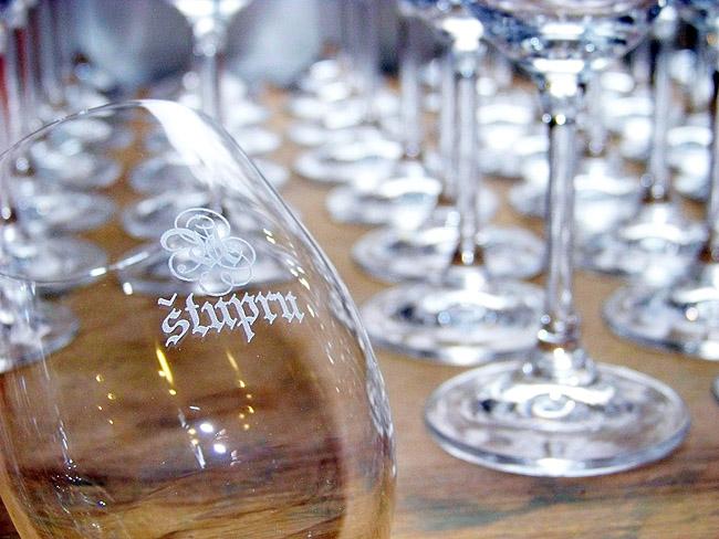 Popis sklenic laserem – gravírování skla