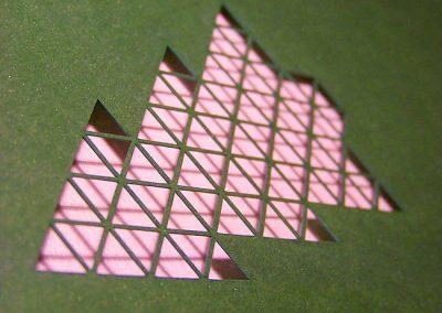 PF stromeček - laserový výsek