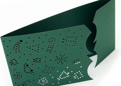 Prořezávané papírové PF - digitální výsek