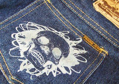 Gravírování do textilu - laserový popis tkaniny