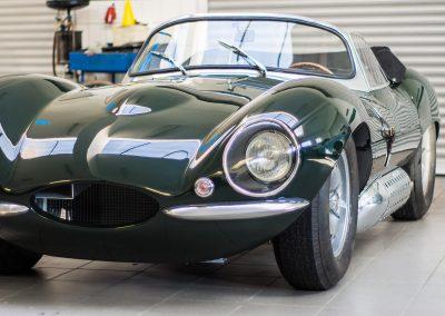 jaguar xkss - v dílně