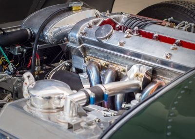 jaguar xkss - motor