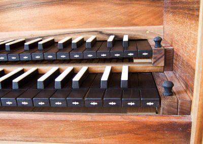cembalo - klávesy