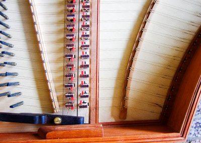 cembalo - kolíky řezané laserem