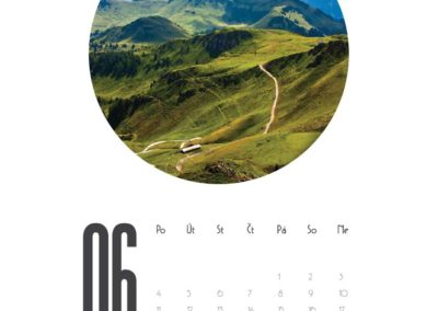 vlastní fotokalendář 2018