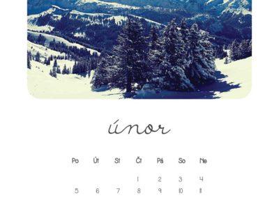 kalendář 2018 z vlastních fotek