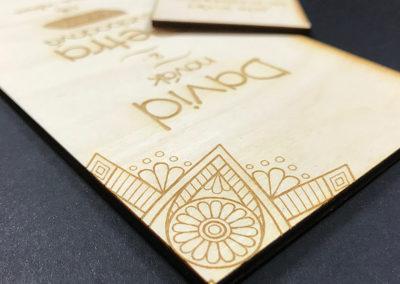 indiánské svatební oznámení