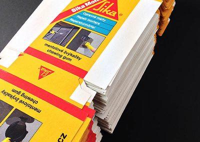 Tisk krabice s digitálním výsekem
