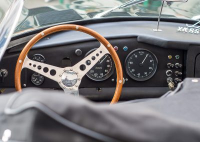 jaguar xkss - volant
