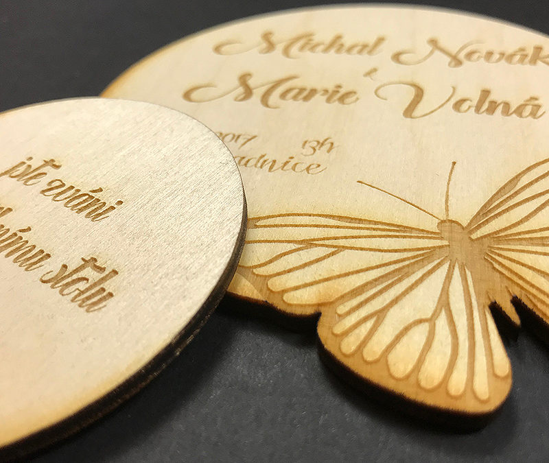 Oznámení – Motýl