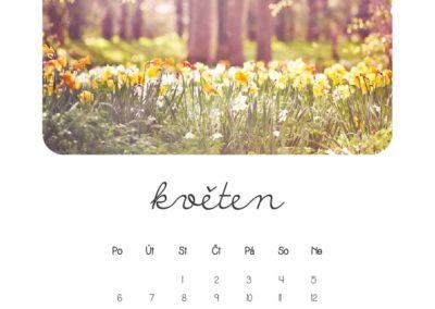 kveten-kalendar-vlastni-foto